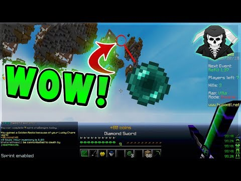INSANE 5 MAN FEED & CALLED FOR HACKS! ( Hypixel Skywars FUNNY MOMENTS )