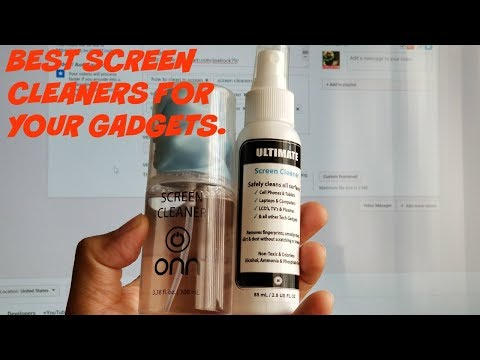 The Ultimate Screen cleaner for your 4K TV and Gadgets