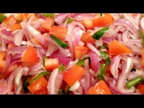 Kachumber Colorful Salad in Urdu/Hindi by Azra Salim