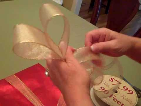 Easy Secrets To Make A Bow For Beautiful Gift Wrapping