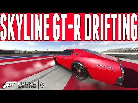 Forza 6 Drift Build : 700HP V8 Nissan Skyline GT-R Drift Build - FM6 DLC