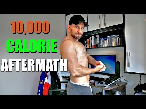 10,000 Calorie Challenge Aftermath | 11 week cut | Physique Update and first morning cardio