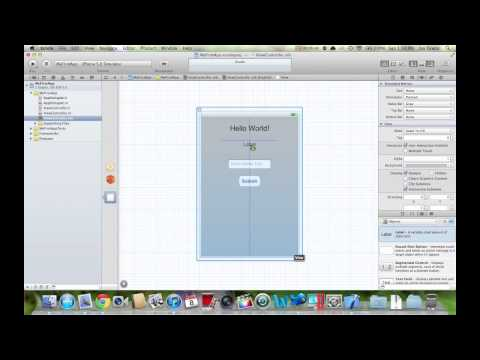 How to make iOS Apps - Intro to Xcode 4: Building Your First App