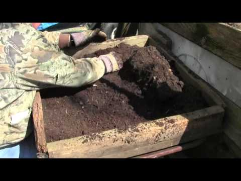MAKING HOMEMADE POTTING SOIL FROM COMPOST PART ONE