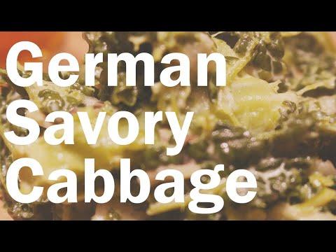 Schmor Wirsing - German Braised Savoy Cabbage   Flavor Lab