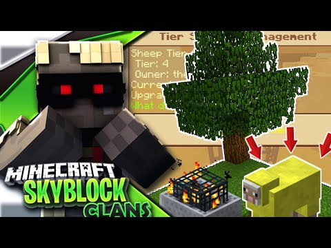 UPGRADING SHEEP SPAWNER*| Minecraft PE Skyblock + Factions!?Server Let's Play#14[MCPE 1.4.0 SKYCLAN]
