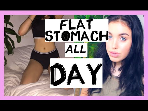 FLAT STOMACH ALL DAY // TIPS & TRICKS
