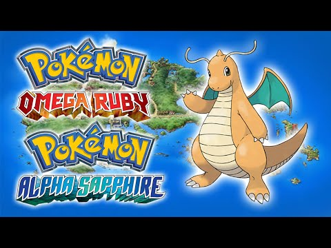 Multiscale Dragonite - Pokémon OmegaRuby and AlphaSapphire Mystery Gift