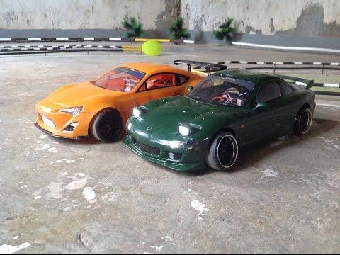 Visiting An RC Drift Track