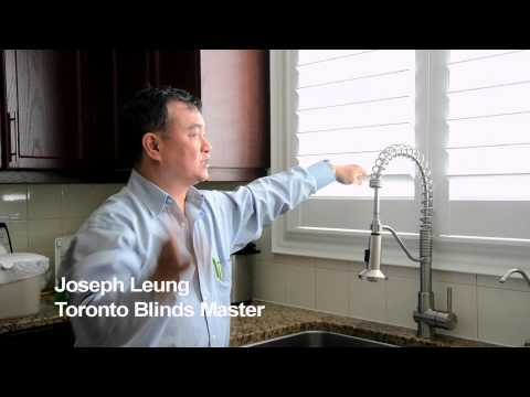 Shutters and Kitchen Sinks - Toronto Blinds Master