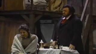 La Boheme  Pavarotti Che Gelida Manina  Fiamma Izzo D Amico Si Mi Chiamano Mimi