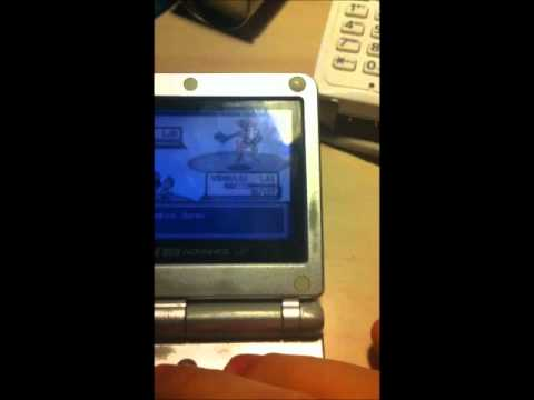 Shiny Deoxys On Pokémon LeafGreen! With Legit Aurora Ticket's Event's WonderCard! 100% Legit!