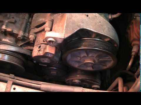 1991-Ford Taurus 3.0- How to Remove Belt and Belt Tensioner