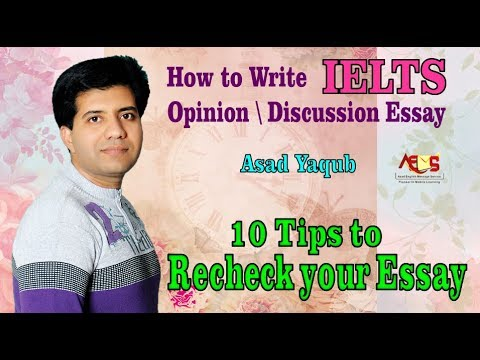 9 Tips for 9 Bands in IELTS Essay Writing || Asad Yaqub