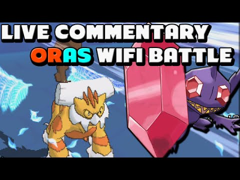 Pokemon Omega Ruby and Alpha Sapphire - ToyDualer vs Beastmoose Live Wifi Battle