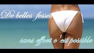 Astuces : De belles fesses sans effort c'est possible / exercices FACILE !