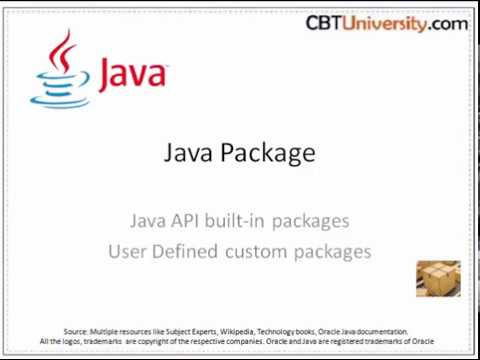 Java - packages - Builtin and User defined