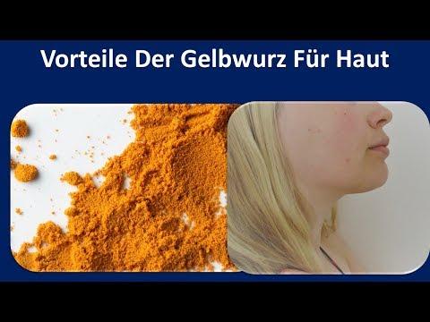 Vorteile der Gelbwurz für Haut | antibiotisches Mittel & Heller Pigmentierung