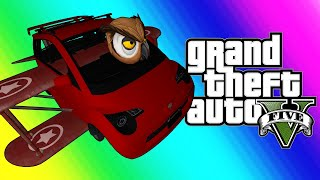 GTA5 Online Funny Moments - Vehicle Transform Gauntlet!
