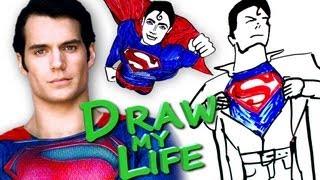 Draw My Life Superman Man Of Steel