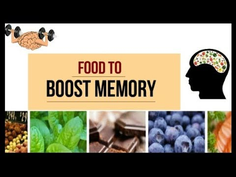 Food To Boost Memory | Food To Improve Concentration | Brain Food