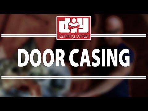 How to install door casings