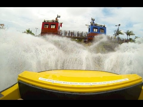 Pirate Reef (HD POV) - Legoland California