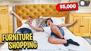 Buying New Bedroom Sets For My Family! (Mega Mansion) | MindofRez