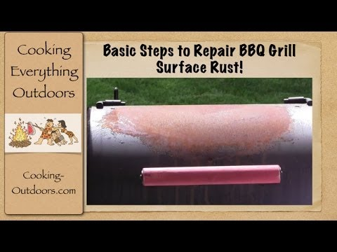 Basic Steps to Repair BBQ Grill Surface Rust | Easy Grilling Tips