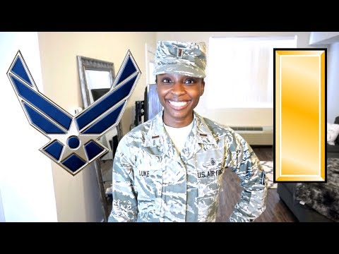 GRWM FOR WORK! | Air Force Female Officer, ABU's Edition