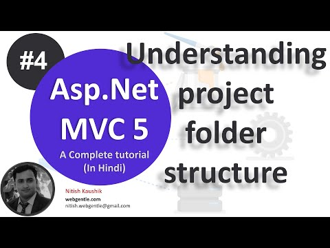 Part - 4 | Understanding MVC 5 project architecture | Asp.Net MVC 5 Tutorial- Step by step in Hindi