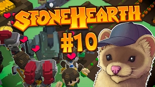 Stonehearth Ep. 10 - KINDA BUSY RIGHT NOW ★ Stonehearth Gameplay