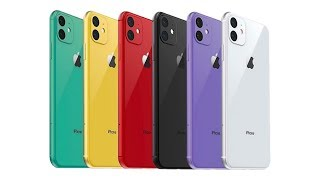 iPhone 11R (2019) - NEW COLORS COMING!