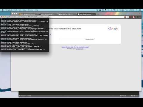 Installing a Web Server on Ubuntu AWS EC2
