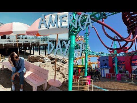 AMERICA DAY 7 - Malibu & Santa Monica! | Aimée van der Pijl