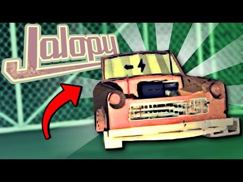 BREAKING INTO A JUNKYARD AND STEALING OLD CAR PARTS - Jalopy Full Release - Jalopy Gameplay