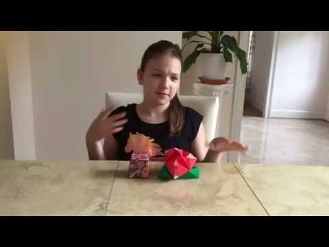 How to Make an Origami Magic Rose Cube Tutorial | Fluffy Unicorn Forever