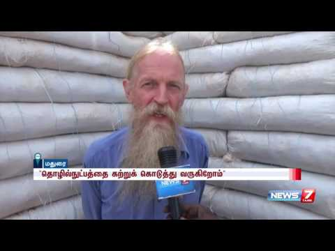 American NGO workers builds houses low cost houses in Madurai   News7 Tamil