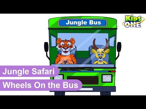 Wheels on the Bus   Nursery Rhymes Songs For Children - KidsOne