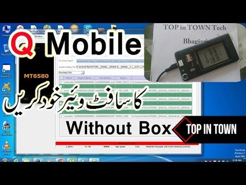 Q Mobile i6i Full Flash with SP flash Tools scatter Urdu Hindi