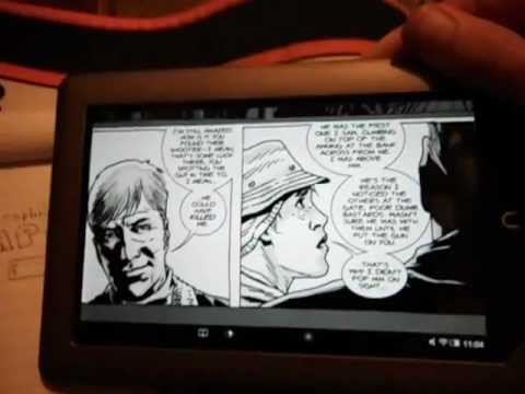 Nook Comics VS Nook Graphic Novel App