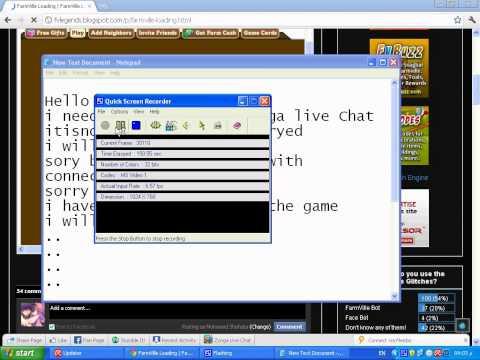 Problem Zynga live chat !!!