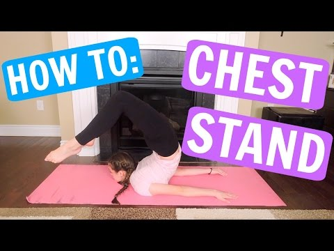 How To Do A Chest Stand FAST AND EASY!