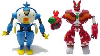Siêu nhân kết hợp Thỏ vui vẻ - Hải cẩu quý tốc - Siêu Robot Chớp Sét