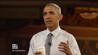 Obama on student debt, balancing STEM and humanities