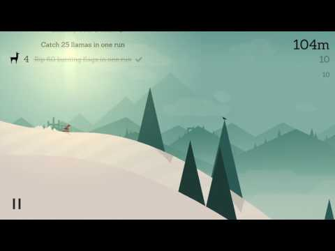 Alto's Adventure - First Adventure and Wing suit