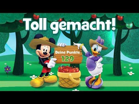 Disney Junior Play Deutsch - Micky Maus Wunderhaus Spiele App ausprobiert