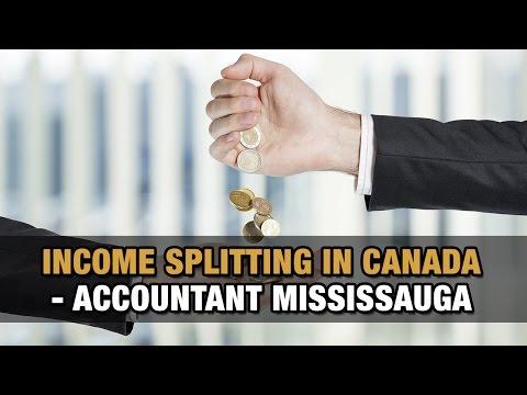Income Splitting in Canada - Accountant Mississauga