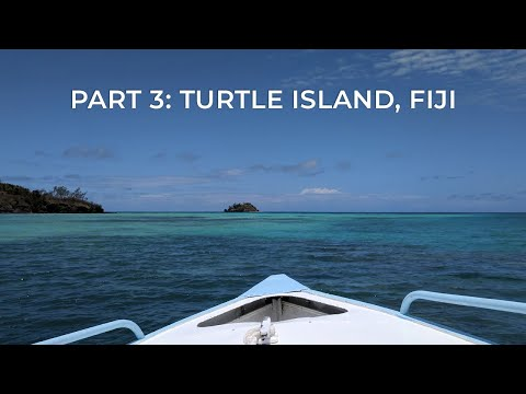 WE HAD OUR OWN PRIVATE BEACH! Turtle Island, Fiji (Part 3 of 3)