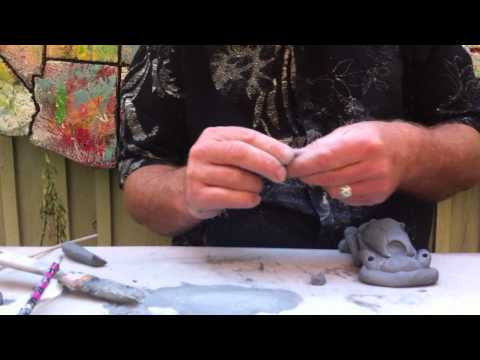 How to make a clay car!